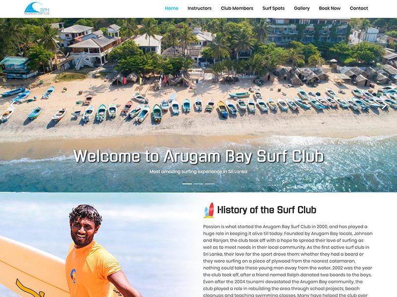Arugam Bay Surf Club